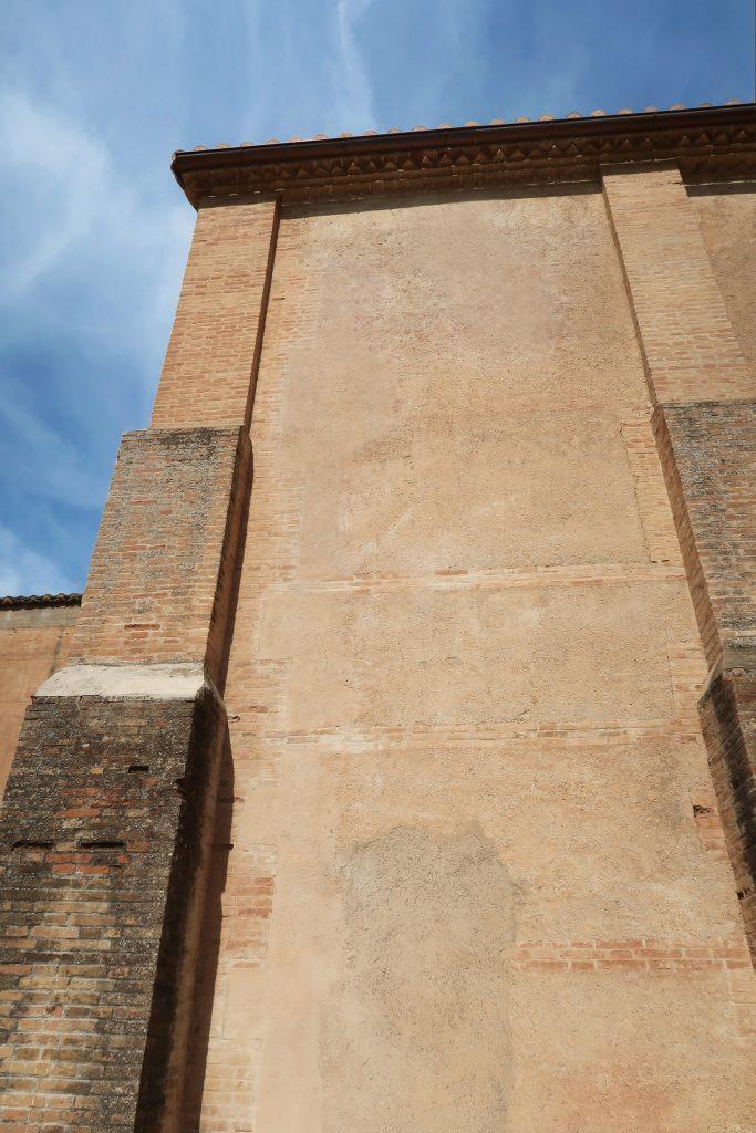 Muros exteriores de la Iglesia