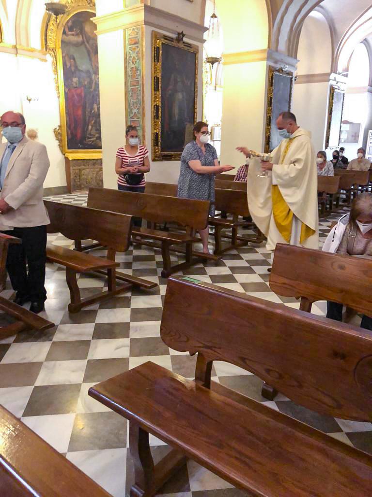 Misa en la Abadía