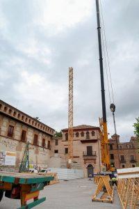 Obras Abadía Sacromonte
