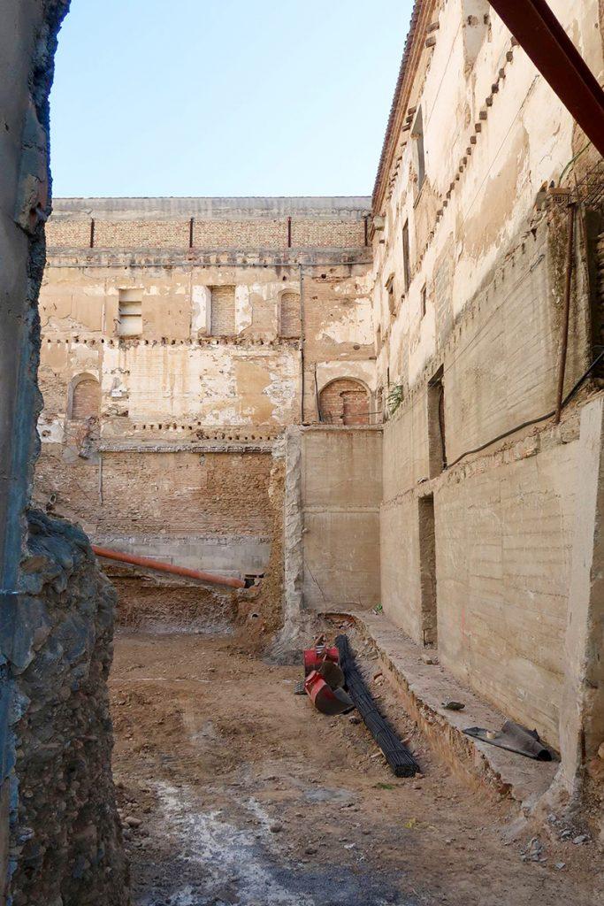 Obras del Edificio Central