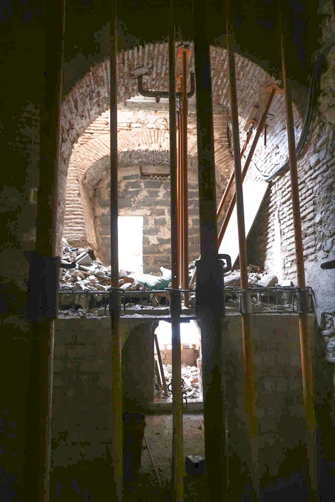 Edificio Central de la Abadía